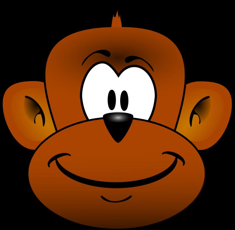 Monkey Face Clipart - Clipart Suggest - photo#41