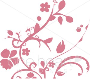 Clipart Orange Flower Clipart Clipart Pink Flower Red Flower Clipart