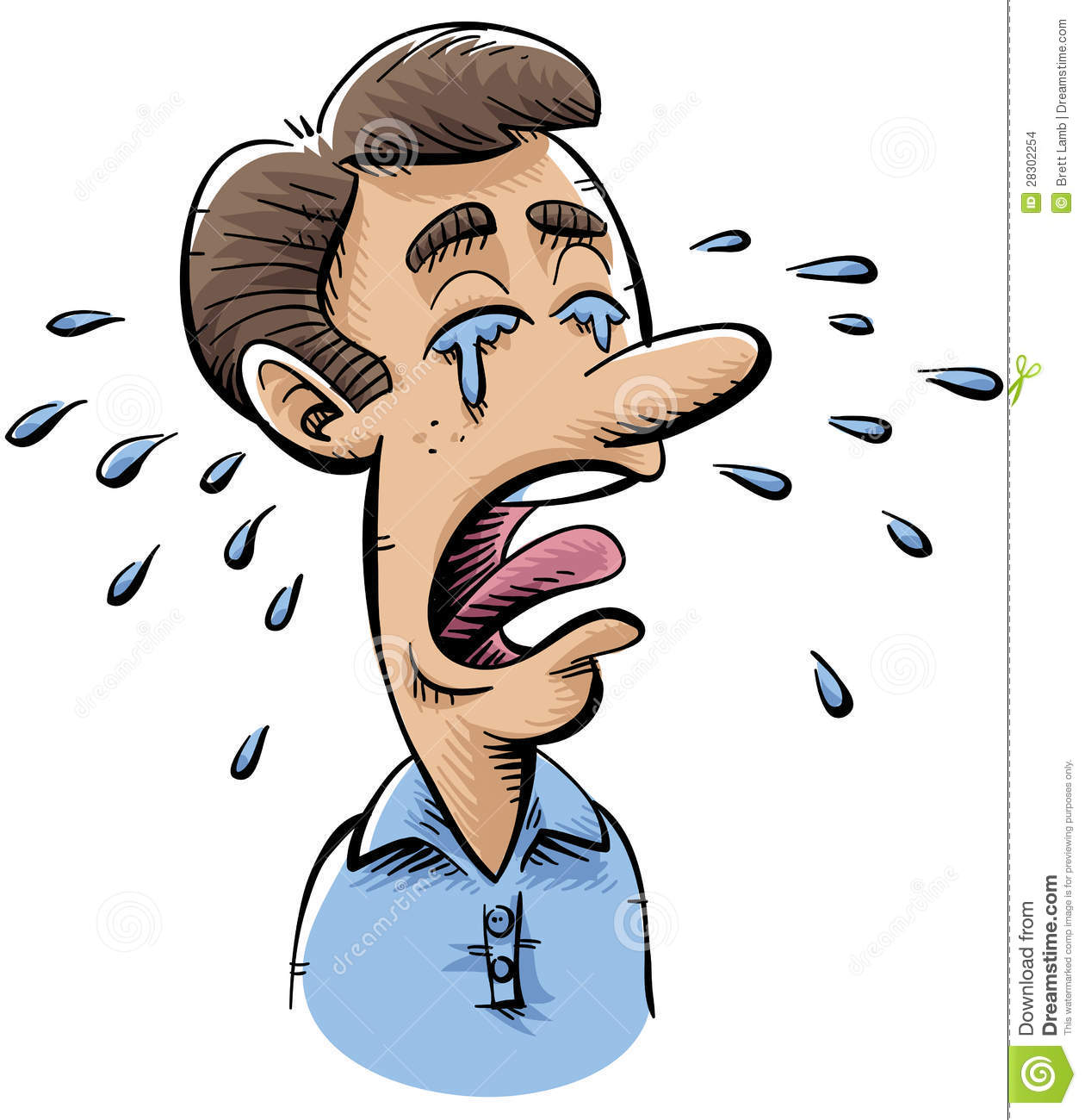 Person Crying Clipart - Clipart Suggest