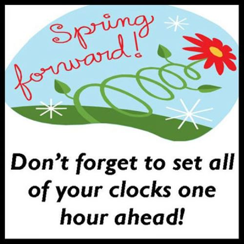 Daylight Savings Time Clip Art Spring Forward 1   Antioch Fellowship