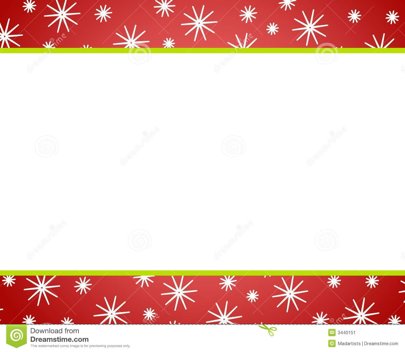 Red Christmas Border Clipart - Clipart Kid