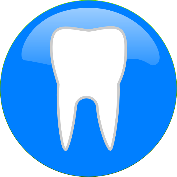 Dental Icon Clip Art At Clker Com   Vector Clip Art Online Royalty
