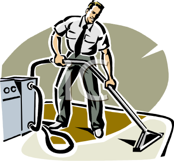 Steam Cleaning Clip Art