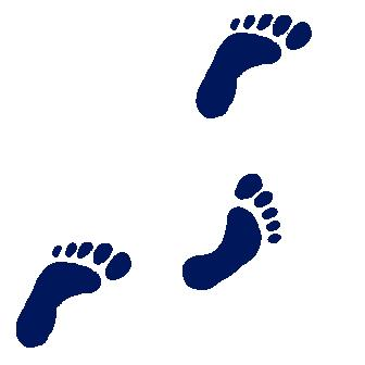 Footsteps Clipart