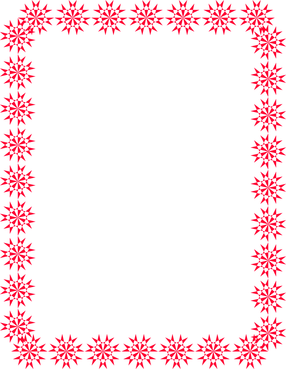 Red Christmas Border Clipart - Clipart Suggest