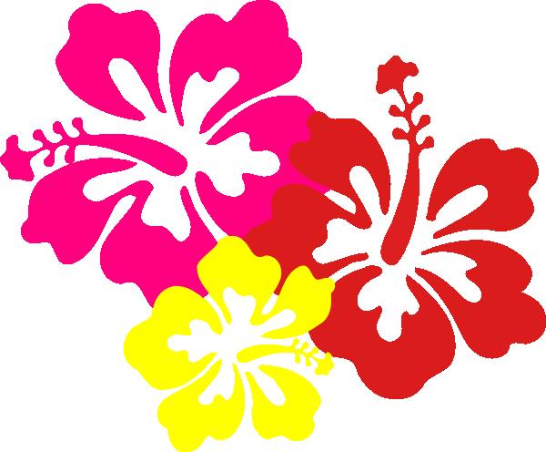 Hawaiian Flower Clip Art Borders   Clipart Panda   Free Clipart Images