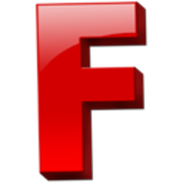 Letter F Icon 1 Free Images At Clker Com Vector Clip Art
