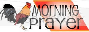 Morning Prayer Clipart   Inspirational Word Art