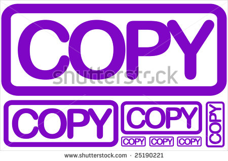 Related Pictures Copy Stamp Clip Art