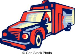 Vehicle Vector Clip Art Eps Images  2478 Emergency Vehicle Clipart