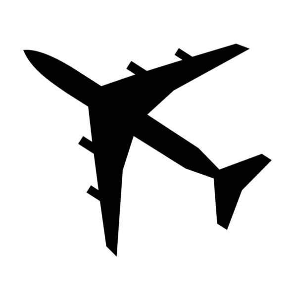 Airplane Outline Clipart Best #WTWDwI - Clipart Kid
