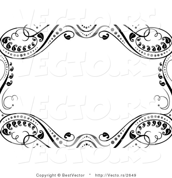 Around White Copyspace Background Border Design By Bestvector    2649