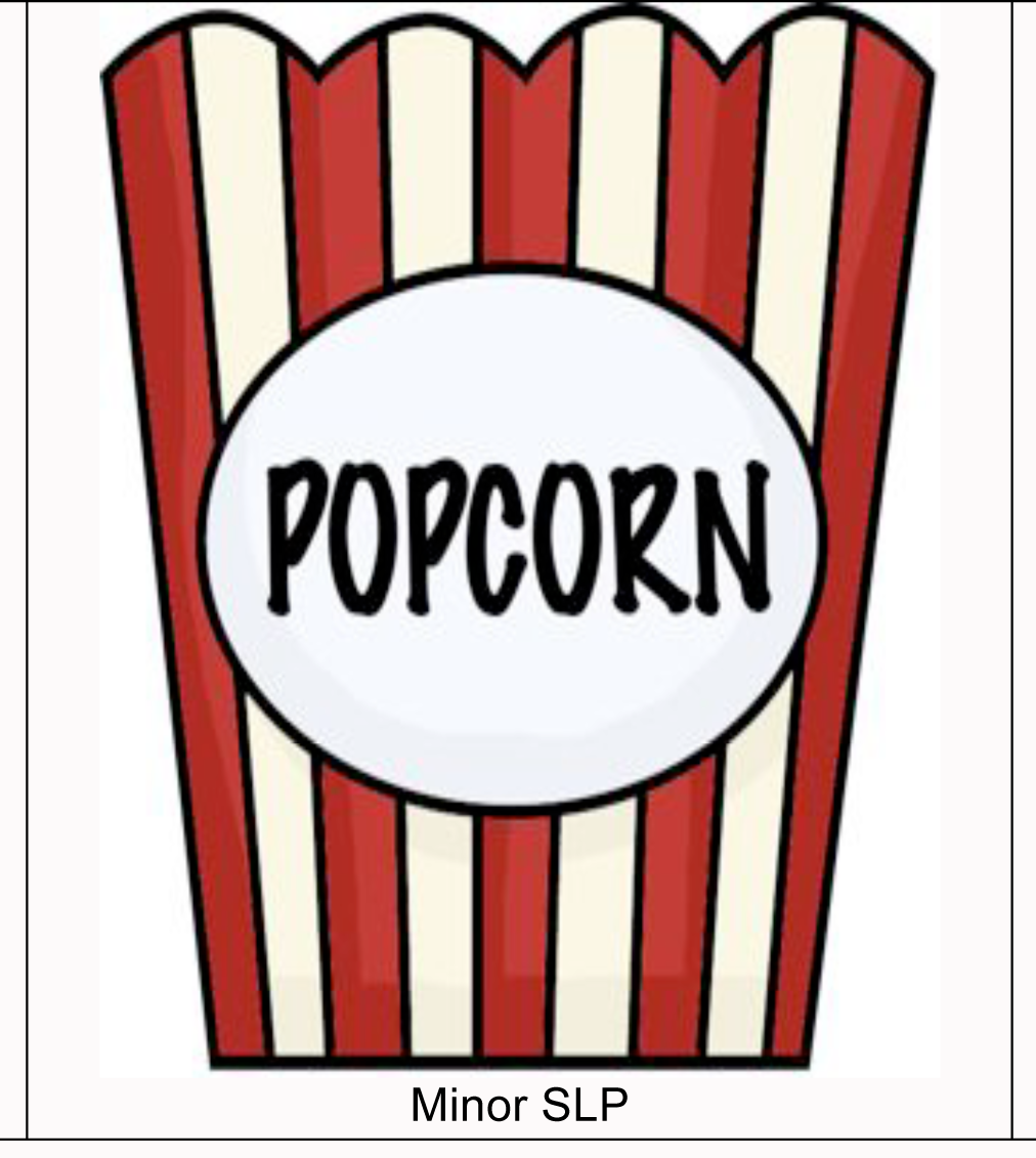 Clip Art Clipart Popcorn popcorn kernel transparent clipart kid carrie s speech corner two speechies tangled together s