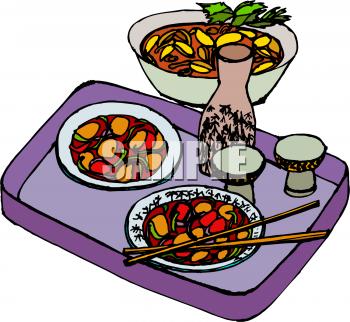Dinner Food Clipart - Clipart Kid