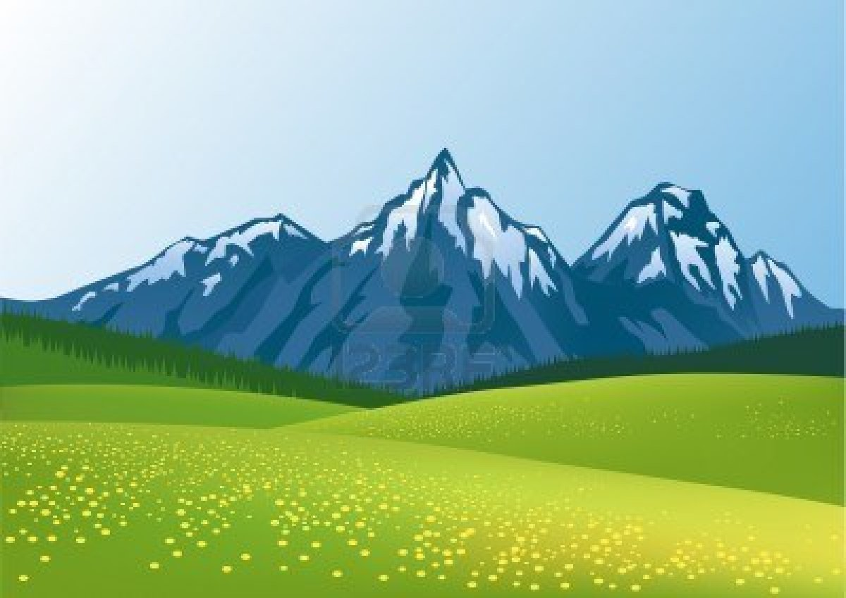 Moutain Background Clipart - Clipart Kid