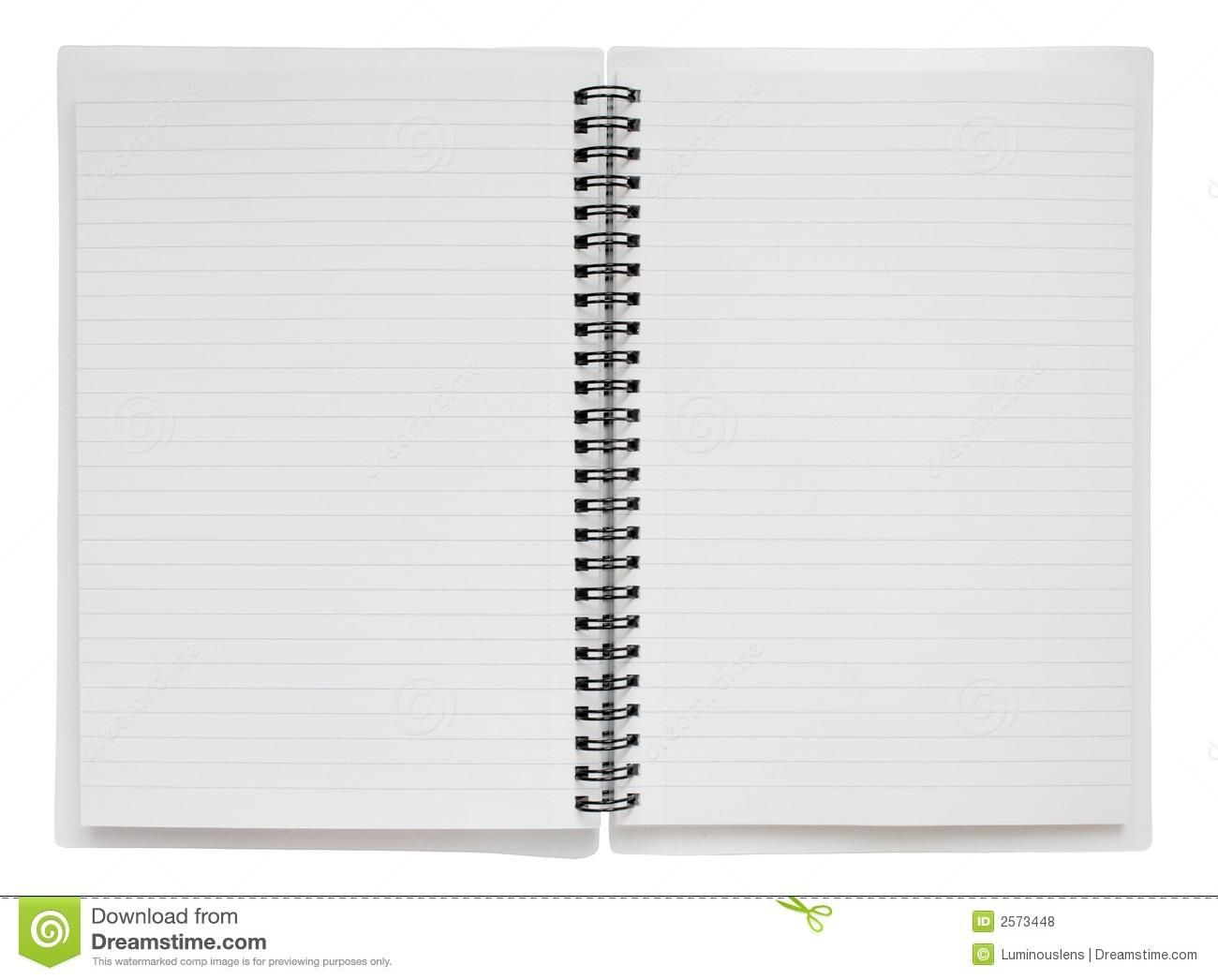 Open Spiral Notebook Open Spiral Notebook C...