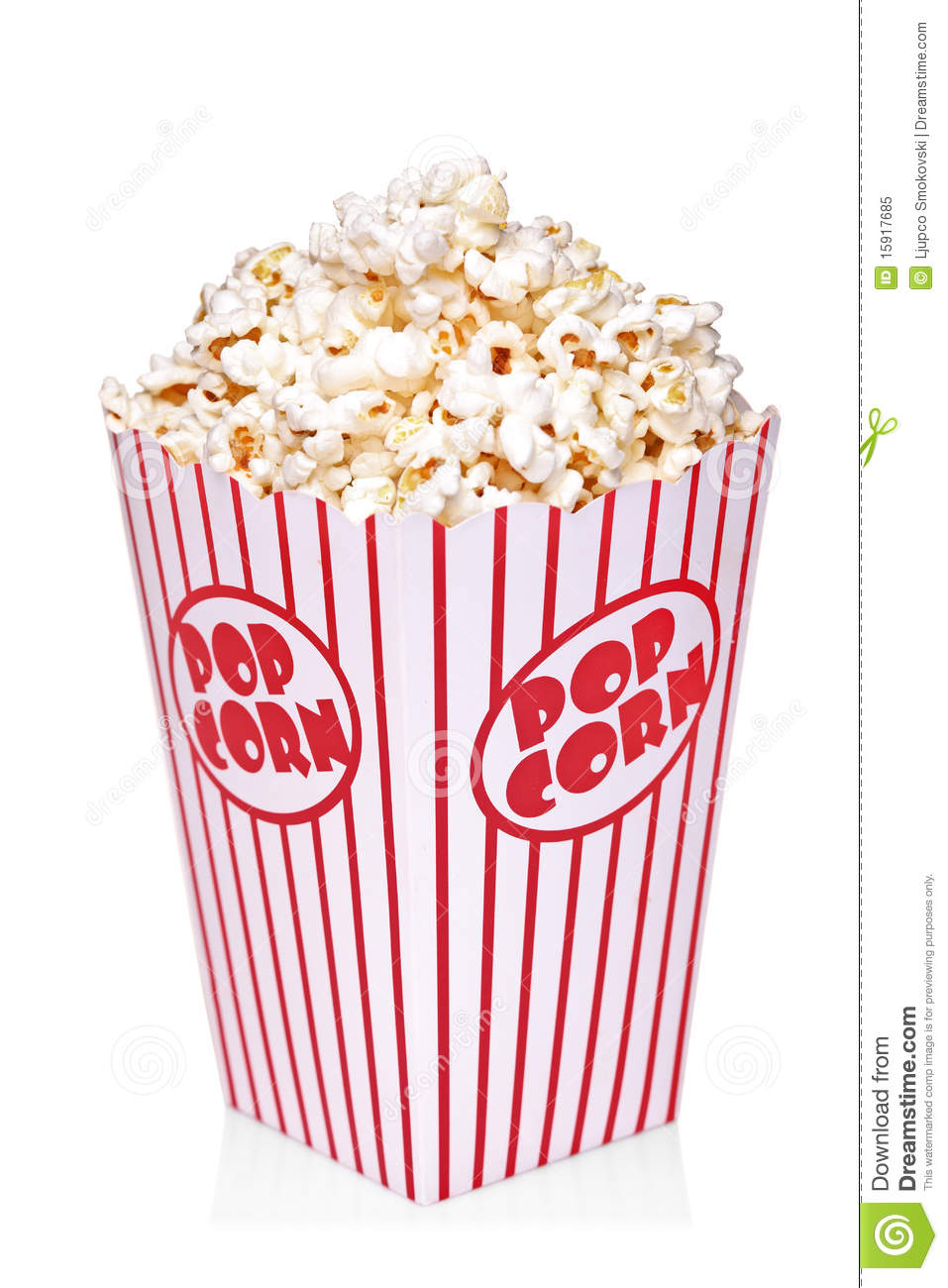Popcorn Box Clipart - Clipart Suggest