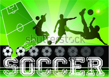Soccer Football Poster Soccer Football Field Background With