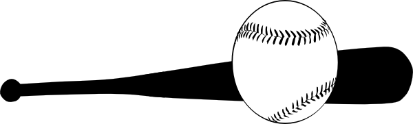 Softball Bat And Ball Clip Art  And Ball Hi Png   Clipart