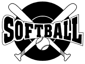 Clip Art Clipart Softball girls softball clipart kid schedule