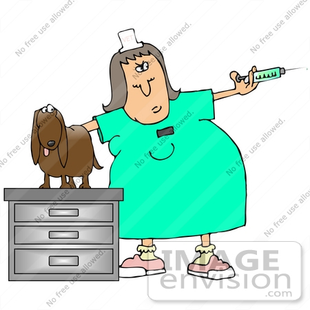 Vaccine Needle Clipart  29920 Clip Art Graphic Of A