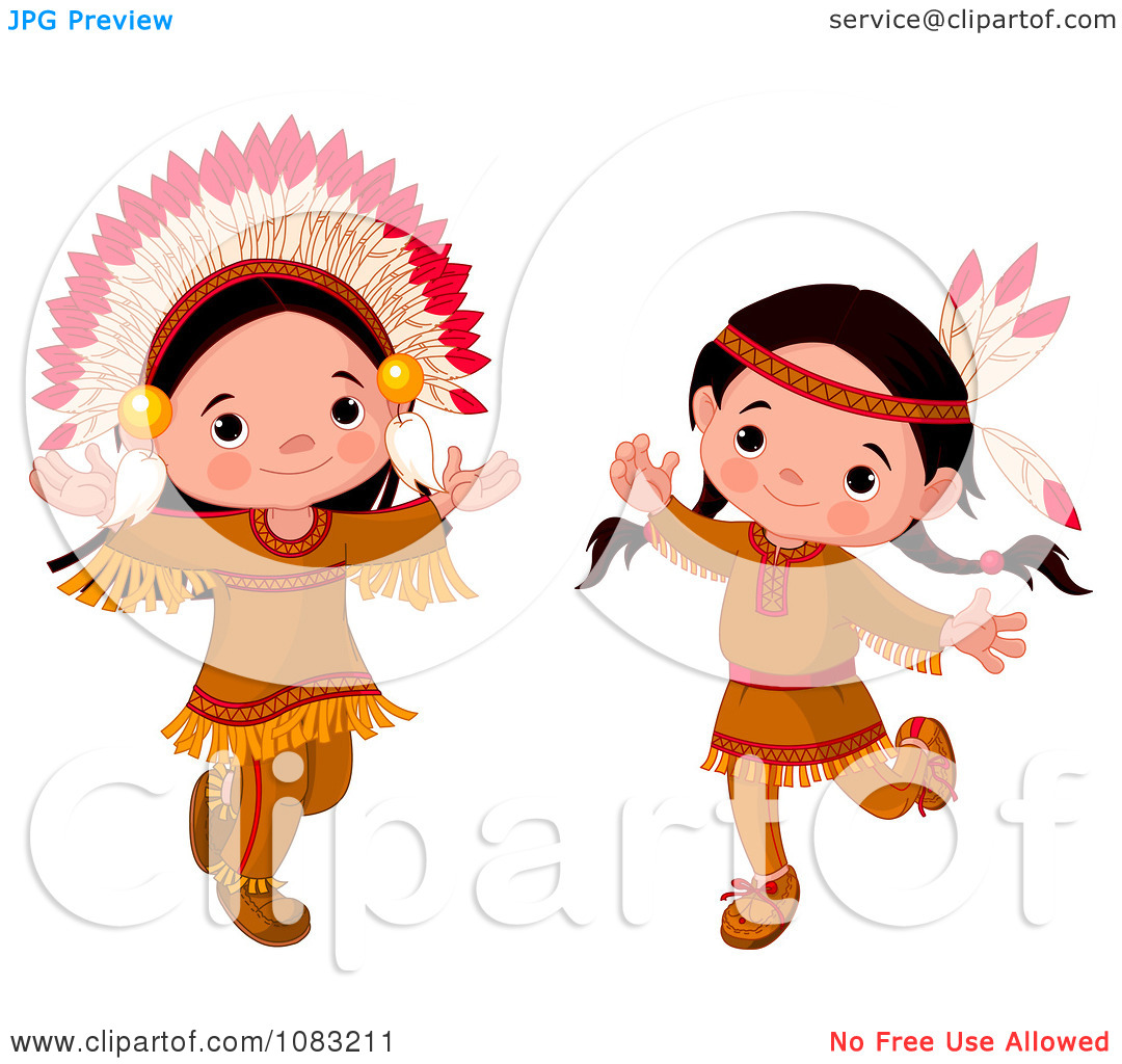 Thanksgiving Indian Clipart - Clipart Kid