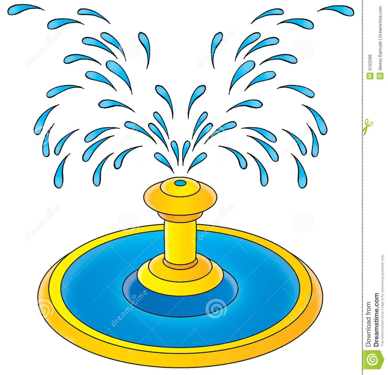Clip Art Fountain Clipart water fountain clipart kid isolated clip art children s book illustration for yours design