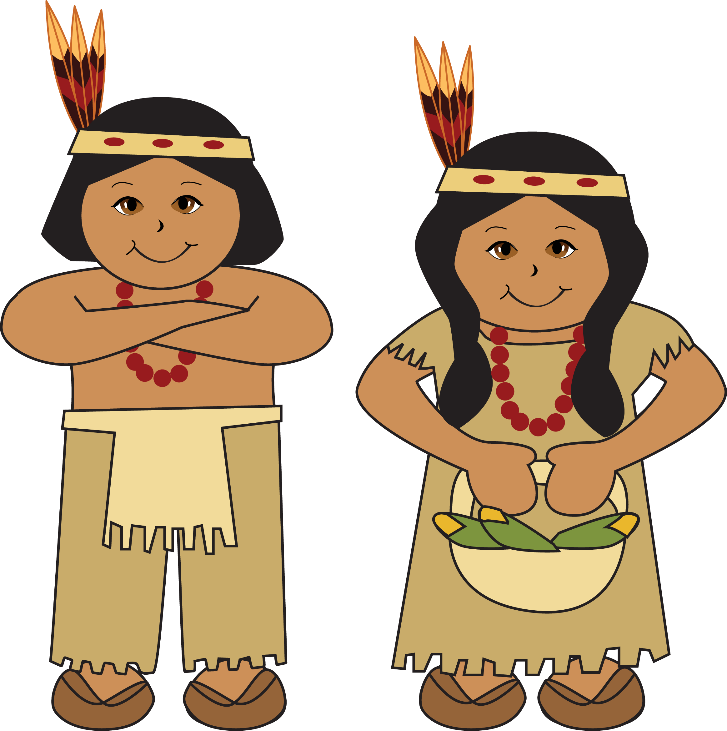 Native American Girl Clipart - Clipart Kid