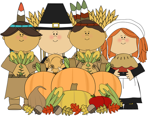 Pilgrims And Indians Clipart Pilgrims And Indians With