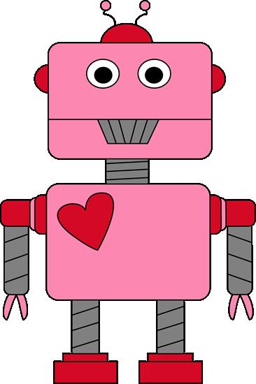 Robot Valentine S Day Clip Art Clip Art   Robot Valentine S Day Image