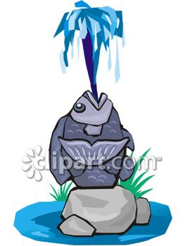 Water Fountain Clipart