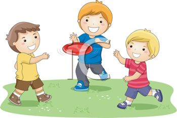 0511 1104 1000 1267 Boys Playing Frisbee Clipart Image Jpg