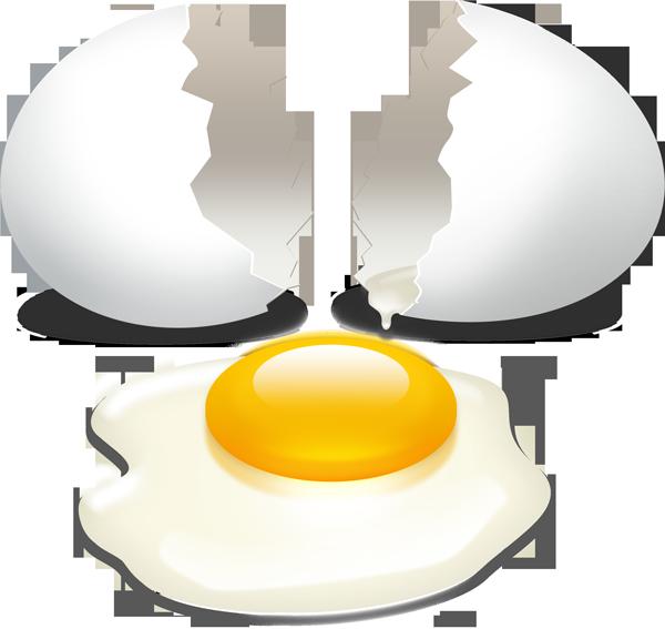 Cracked Egg Clipart - Clipart Kid