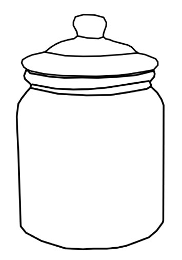 Cookie Jar Clipart Black And White Who Stole Cookie Cookiejar Jpg