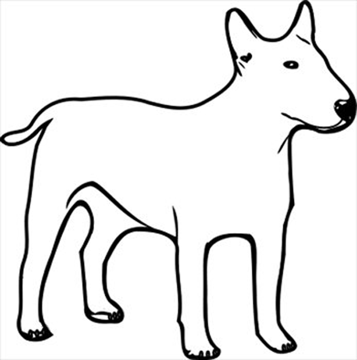Dog Clip Art Black And White   Clipart Panda   Free Clipart Images