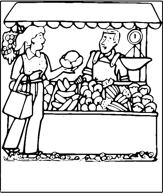 Farmers Market Stand Clipart Been To A Farmers Market