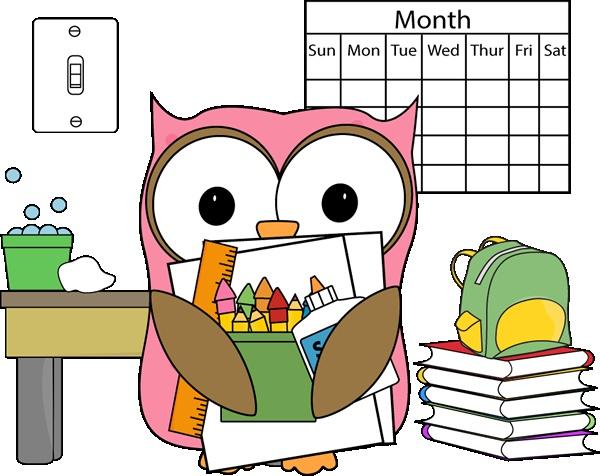 free clipart for teachers calendar - photo #35