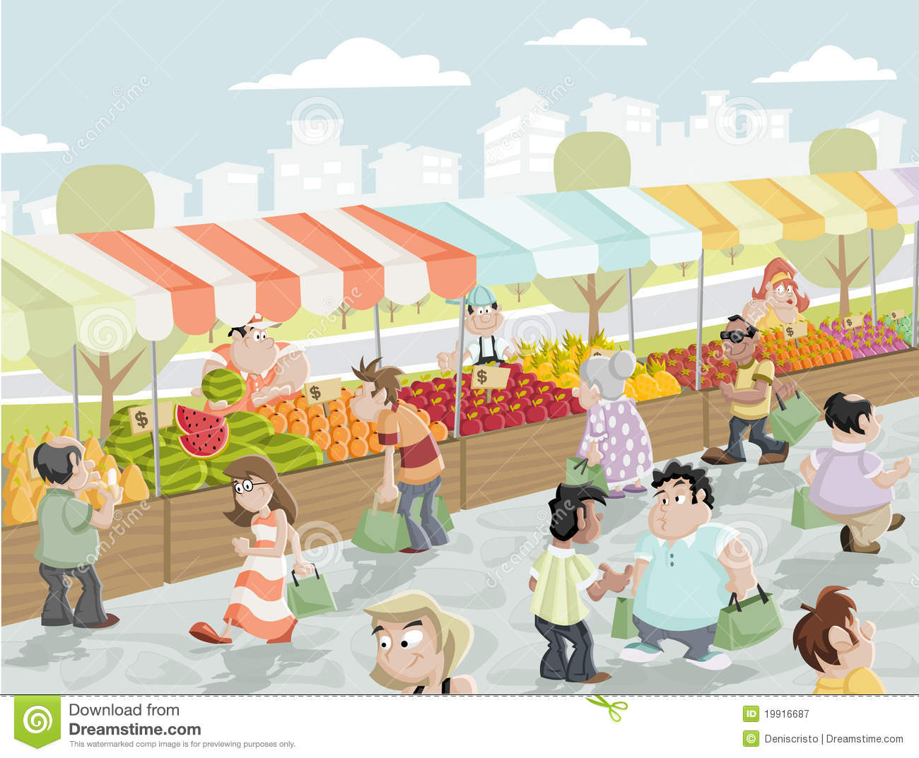 Go Back   Pix For   Farmers Market Stand Clipart