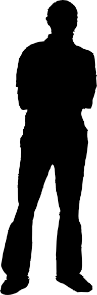 Man Silhouette Clip Art At Clker Com   Vector Clip Art Online Royalty
