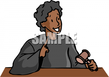 Royalty Free Judge Clip Art People Clipart