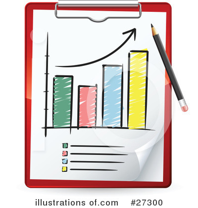 Royalty Free  Rf  Bar Graph Clipart Illustration By Beboy   Stock