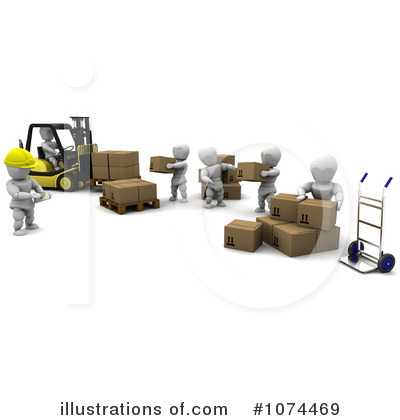 Royalty Free  Rf  Shipping Clipart Illustration By Kj Pargeter   Stock