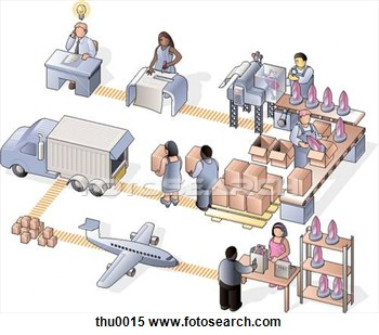 Stock Illustration Of Manufacturing Company Thu0015   Search Clipart