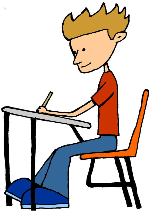 Students Sitting At Desks Clipart   Free Cliparts That You Can