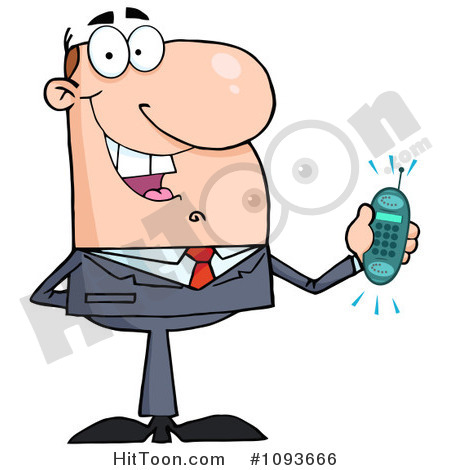Cell Phone Clipart   Vectors  1