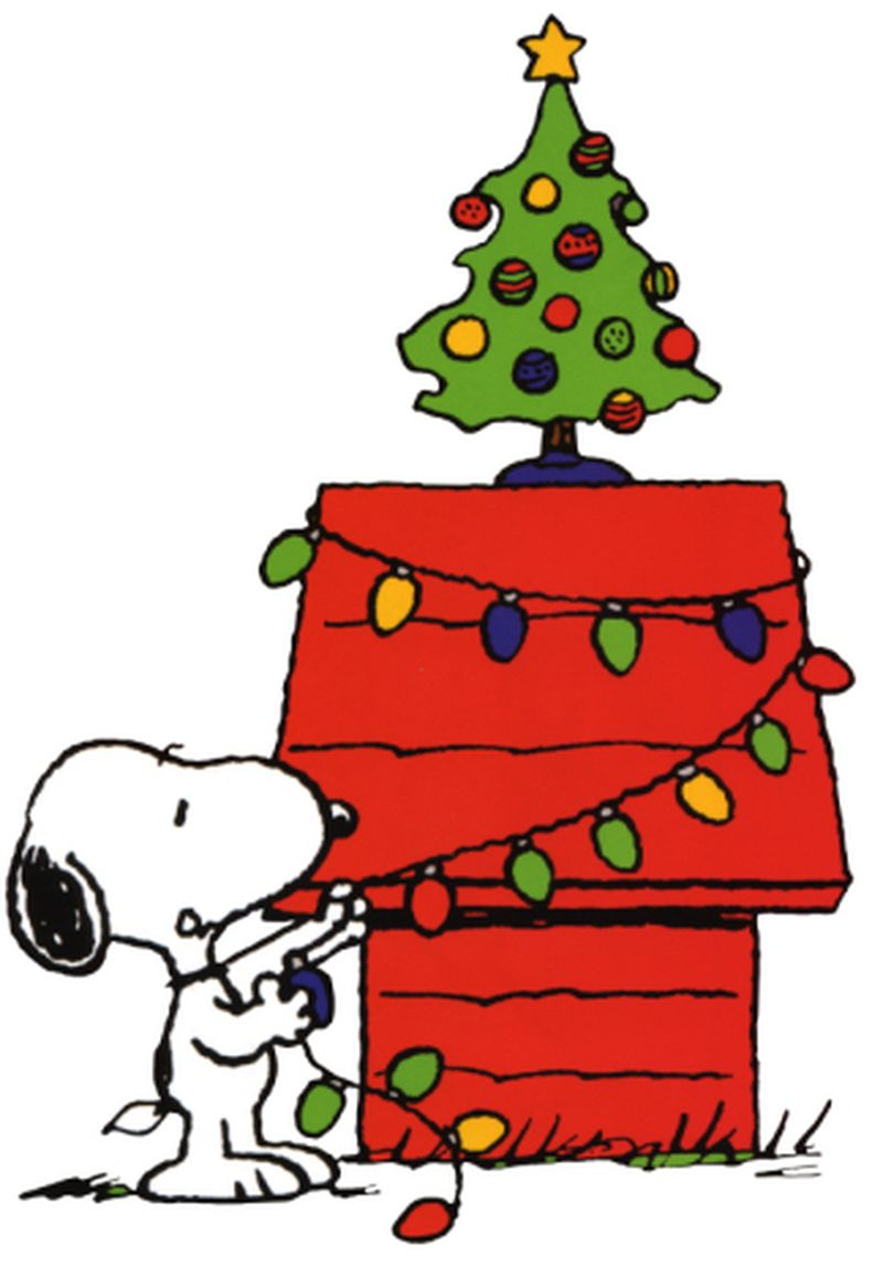 Clip Art Snoopy Christmas Clip Art snoopy christmas clipart kid lights treejpg