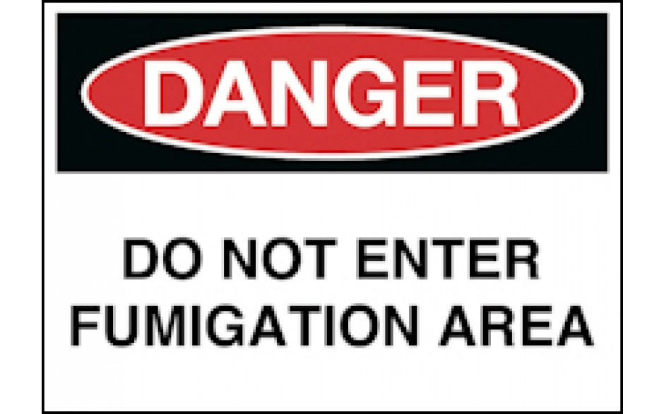 Danger   Do Not Enter Fumigation Area   Danger   Agriculture