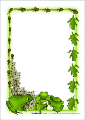 Frog Borders   Joy Studio Design Gallery   Best Design