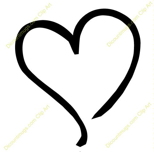 Whimsical Heart Clipart - Clipart Kid
