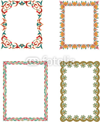 Islamic Border Frame Free Vector Graphics